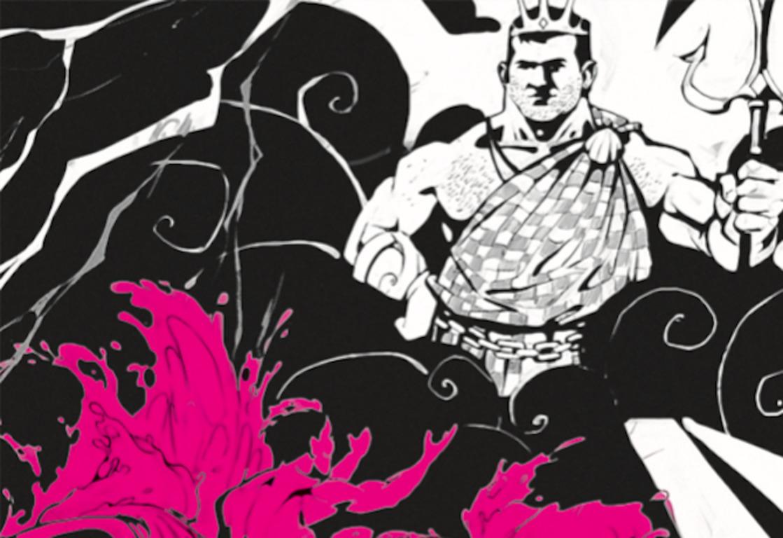 📚 Вийшла «Енеїда» українською латинкою з ілюстраціями на тему війни на сході країни