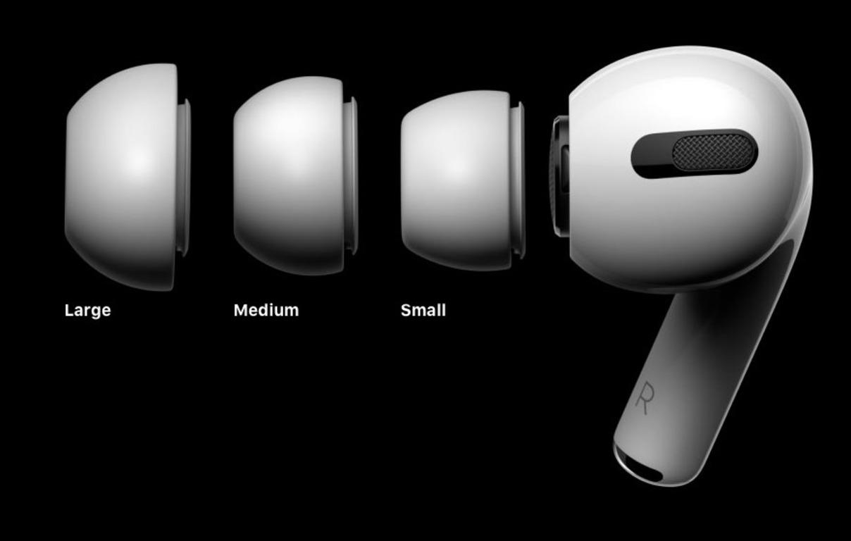 🍏 Apple oficijno predstavyla AirPods Pro – sylikonovi «vkladyši» zi šumopoglynannjam