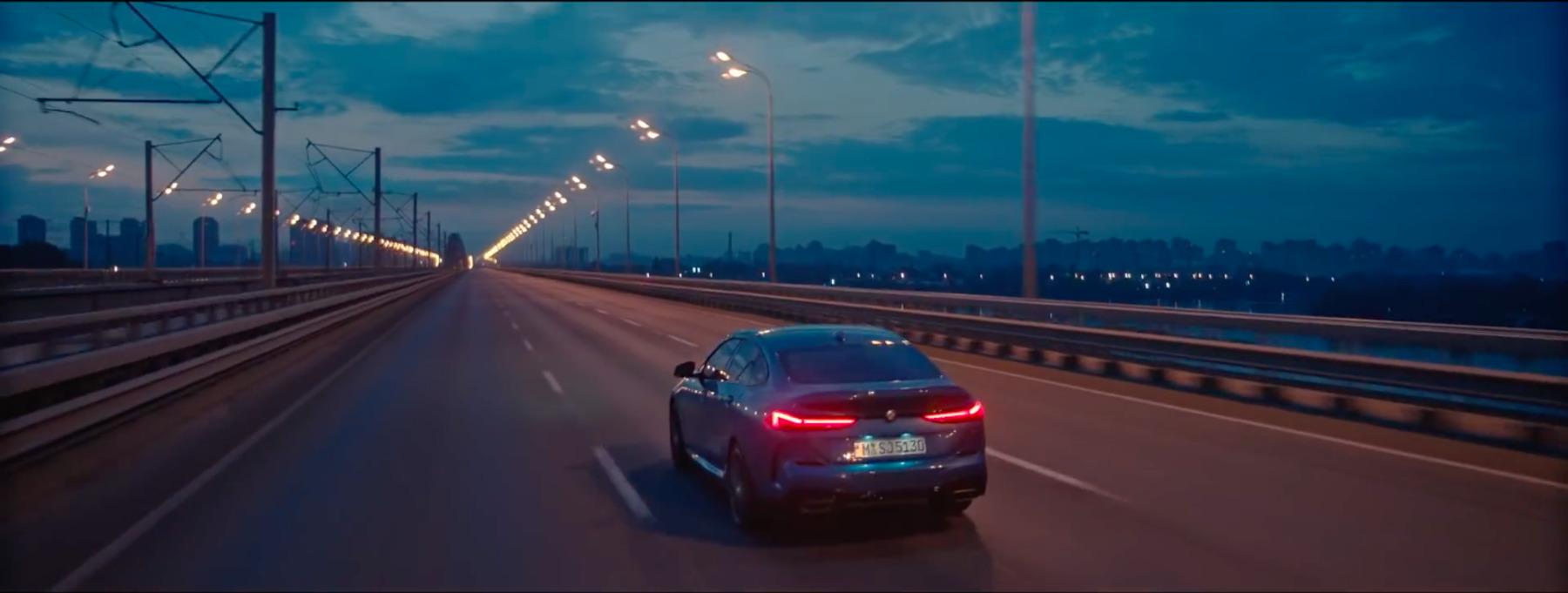 🚘 BMW зняла нову рекламу у Києві: дивіться на Поділ та маєток Уварової