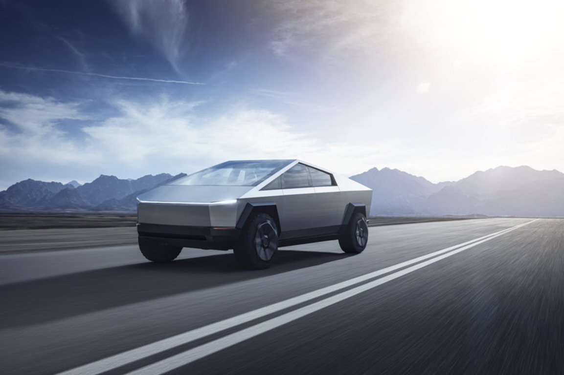 🚗 Tesla представила електричний пікап Cybertruck