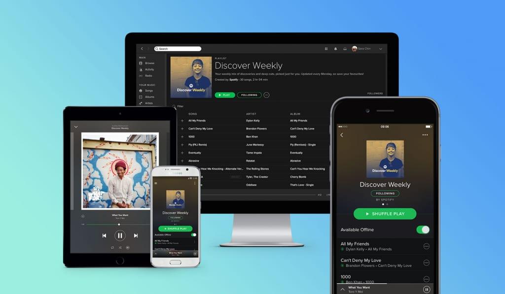 Spotify zapustyvsja v Ukraїni u lypni 2020 roku