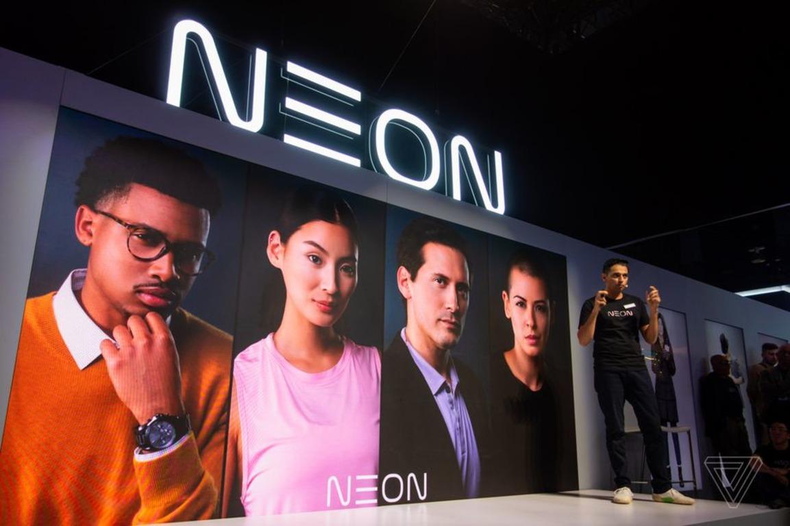 🤖 Samsung pokazala «štučnyh ljudej» Neon — realistyčni virtuaľni avatary