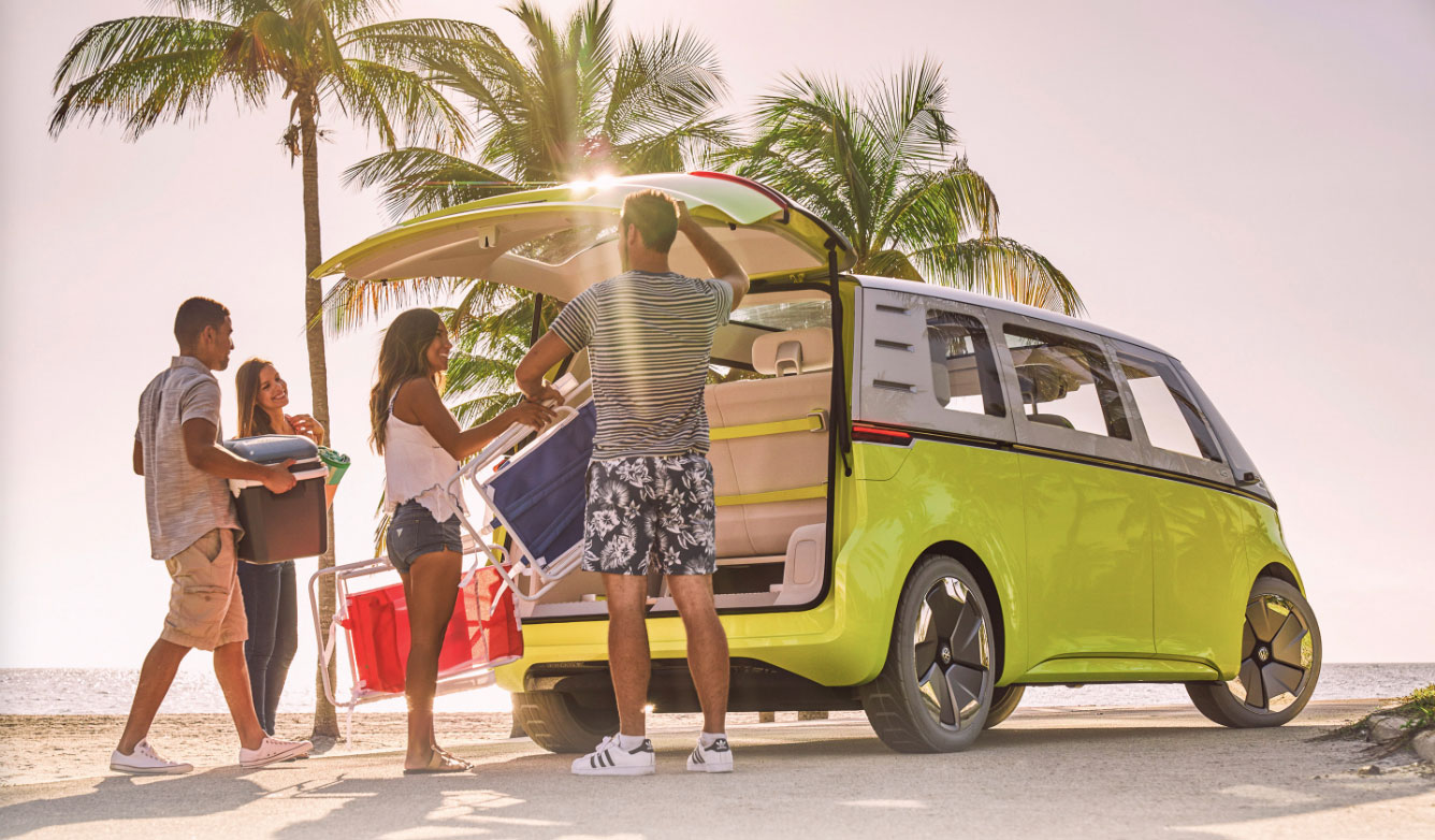 🚌 Volkswagen показав нову електронну версію свого легендарного міні-буса