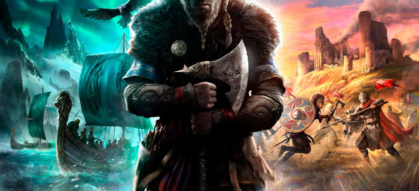 ⚔️ Assassin's Creed Valhalla — Ubisoft pokazaly peršyj tyzer novoї gry