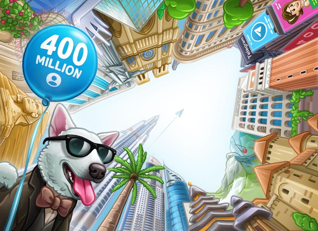 📱 Оновлення Telegram: новий рекорд онлайну, пошук по стікерах та гранти на 400 000 євро