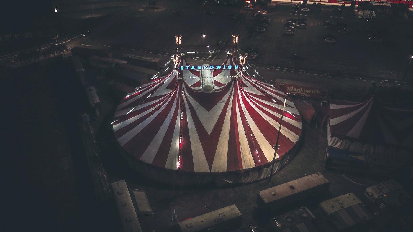 🎪 Cirque du Soleil pokazav šče odne šou onlajn