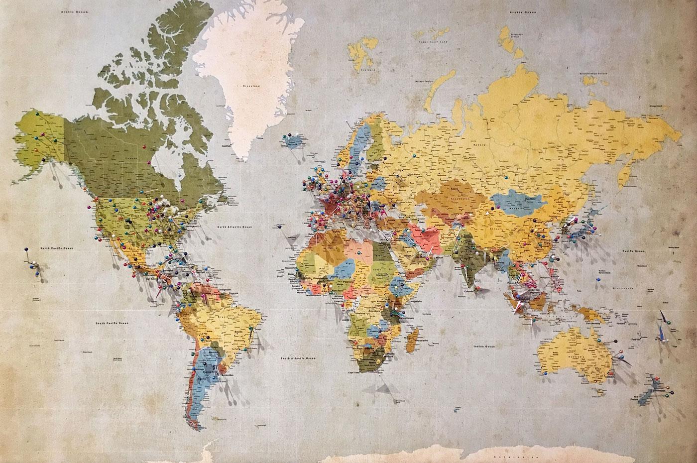 🗺 «Мовна мапа світу»: можна почути есперанто в Полтаві та діалекти Закарпаття