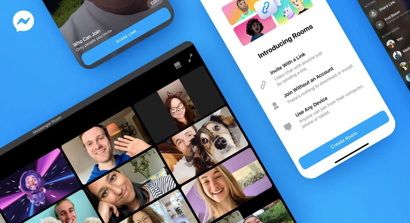 💁🏼♀️ Facebook випустив сервіс для відеоконференцій — Messenger Rooms