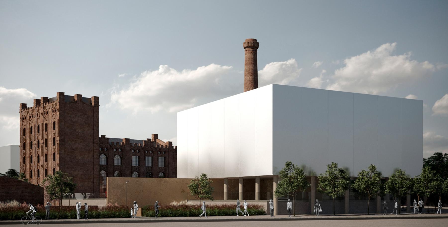 🏭 Київські архітектори запропонували проєкт реновації заводу Ріхерта — концепт від SHOVK