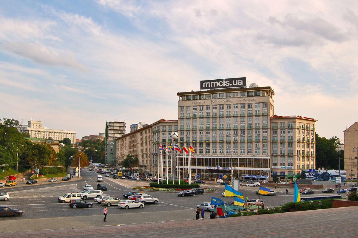 🏨 U Kyjevi vystavyly na prodaž goteľ «Dnipro» — deševše za kvartyru