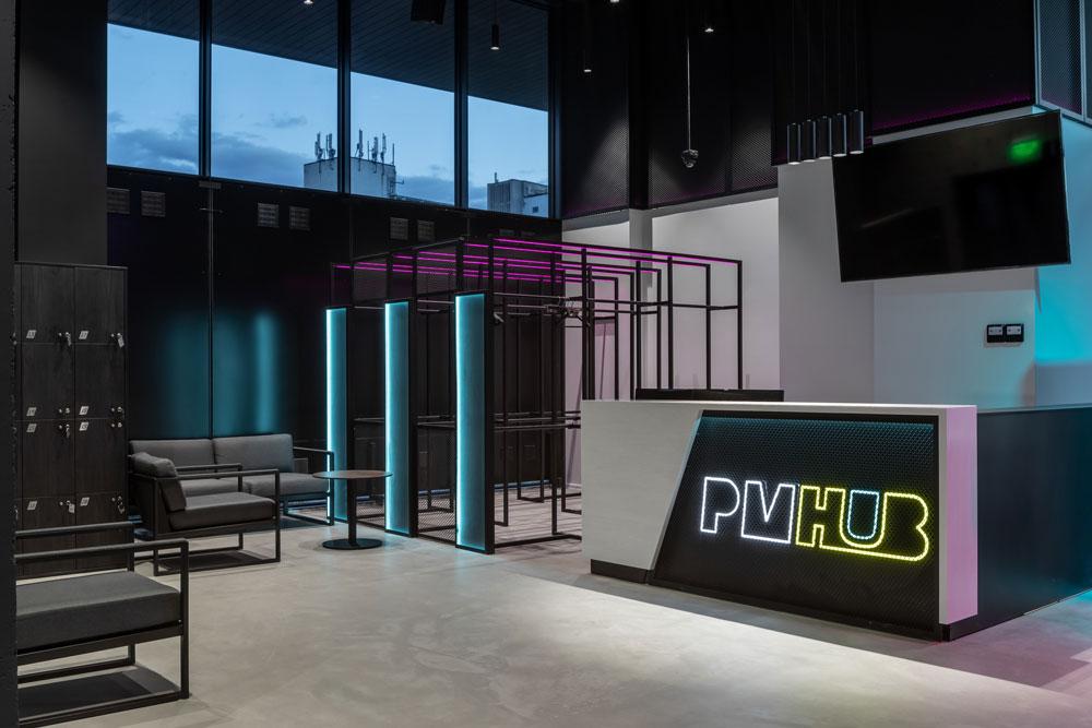 👩💻 У центрі Києва відкривається PMHUB — хол з панорамною терасою і відкритим дахом для заходів