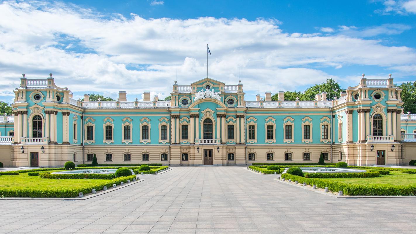 🏛 Mariїnśkyj palac vidkryjuť dlja ekskursij