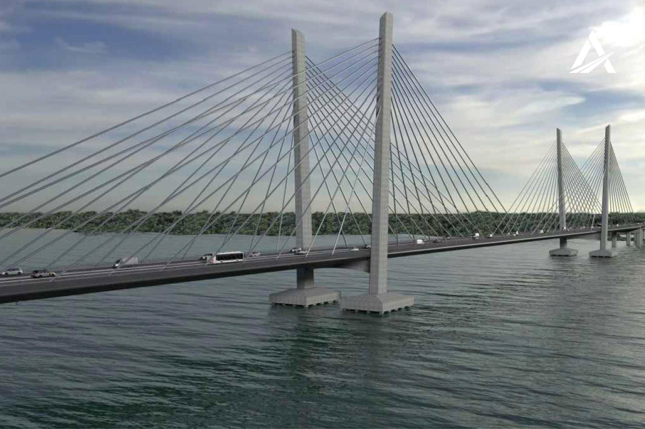 🏗 Кременчуцький міст через Дніпро — протягом 2021 року розпочнеться будівництво