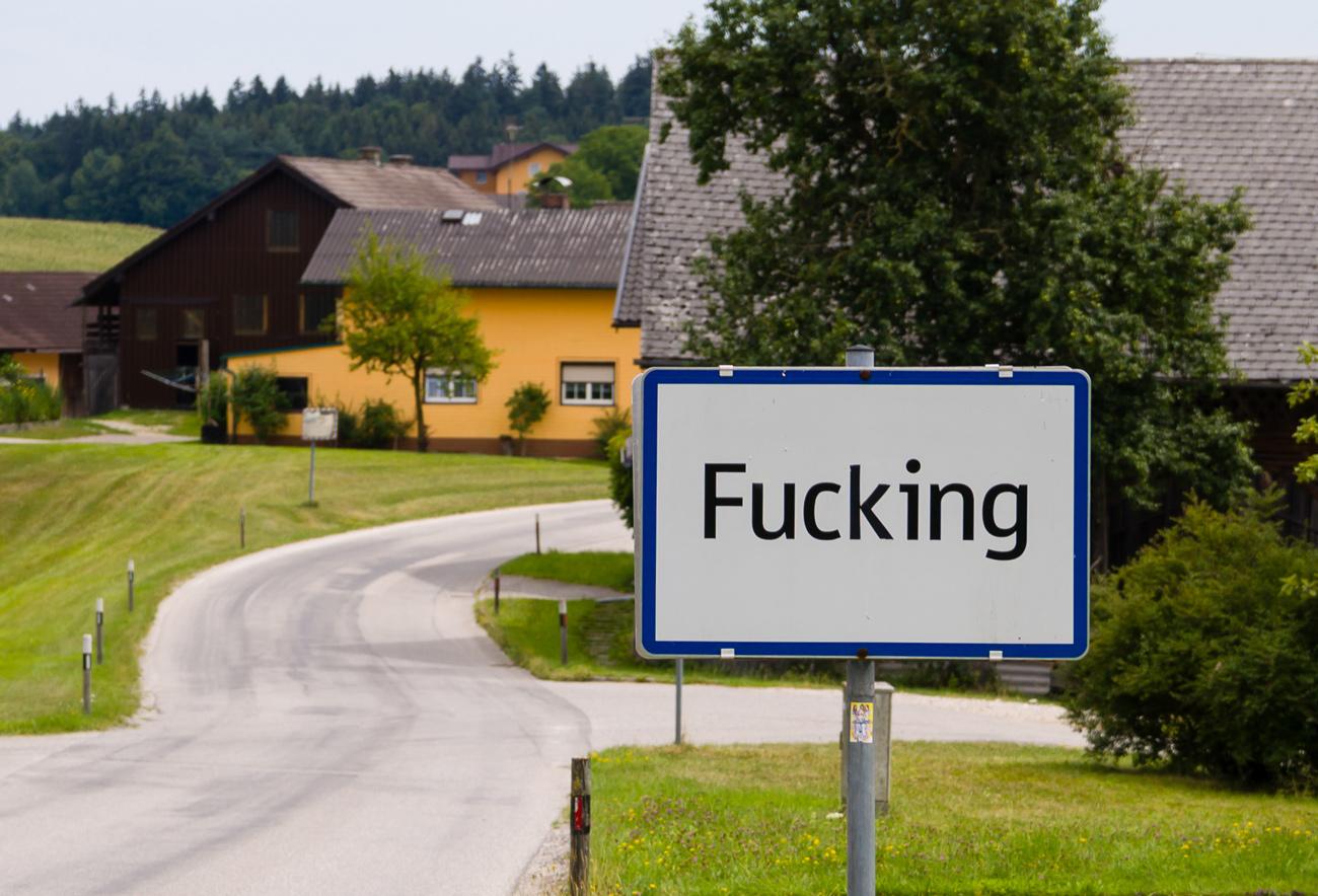 🤪 Австрійське село Fucking змінить назву — постійно цупили таблички