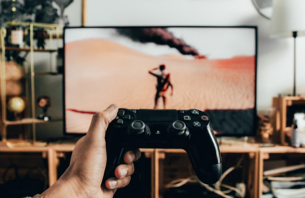 Konsoľ, videoigry