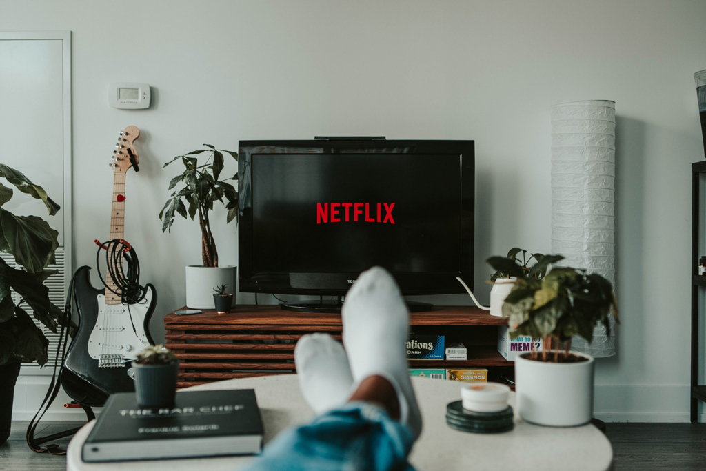 Перегляд Netflix на телевізорі