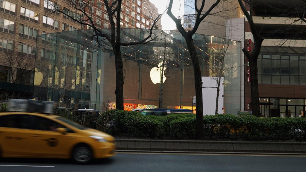 Bezpilotni avtivky Apple