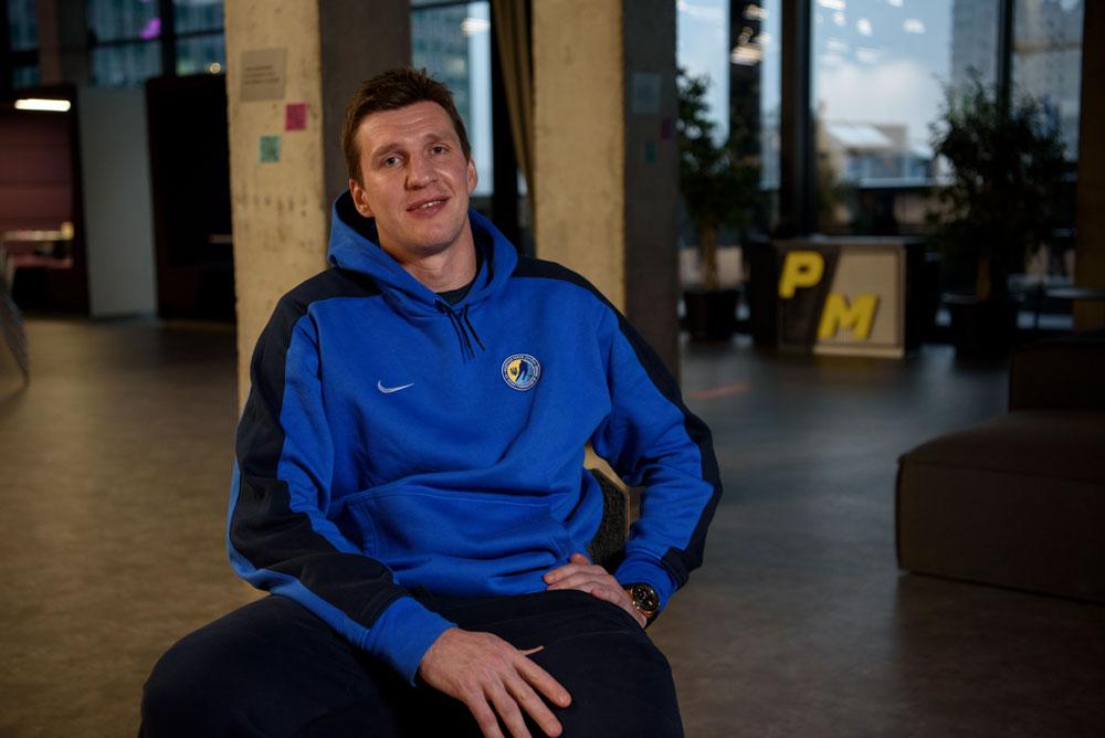 Ukraїnśkyj hokeїst Andrij Mihnov pro zbirnu Ukraїny z hokeju