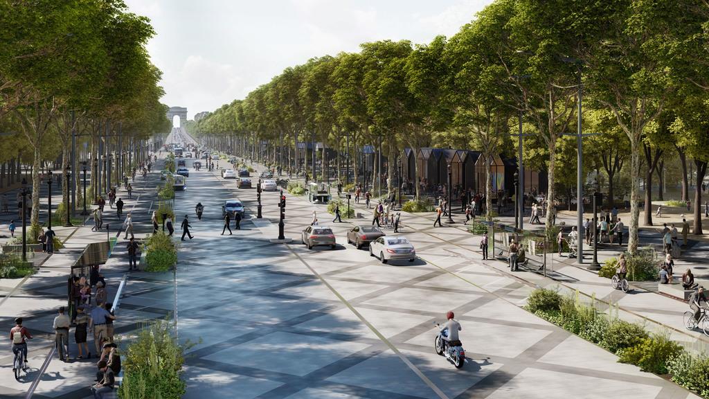 Jelysejśki polja u Paryži