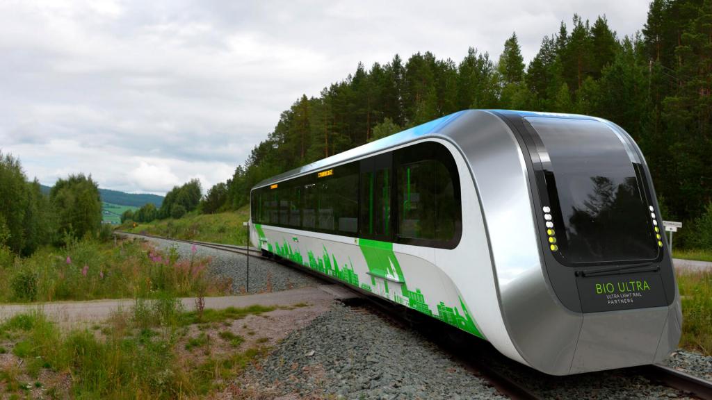 Біогаз для потягів