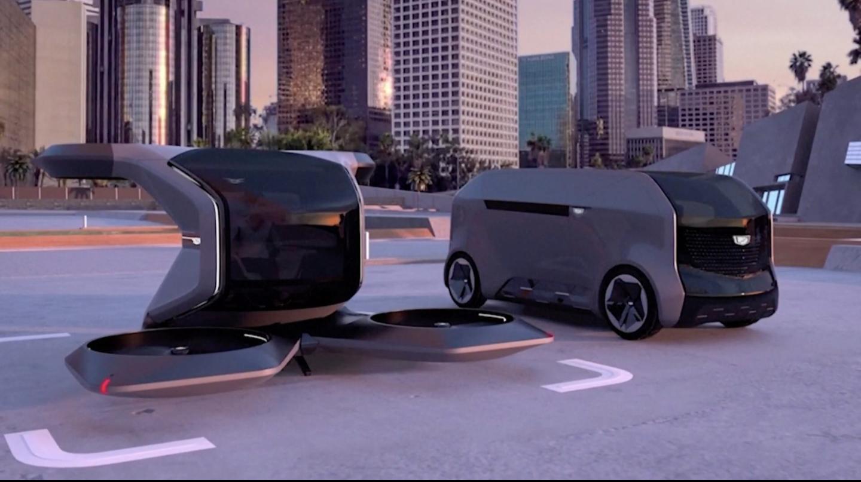 😲 General Motors prezentuvala letjučyj Cadillac