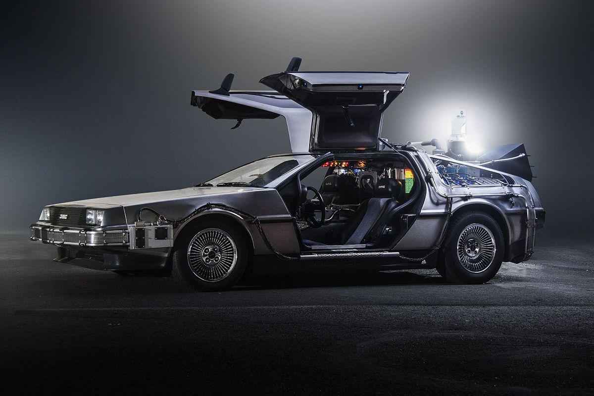 😲 У США перевипустять автомобіль DeLorean з фільму «Назад у майбутнє»