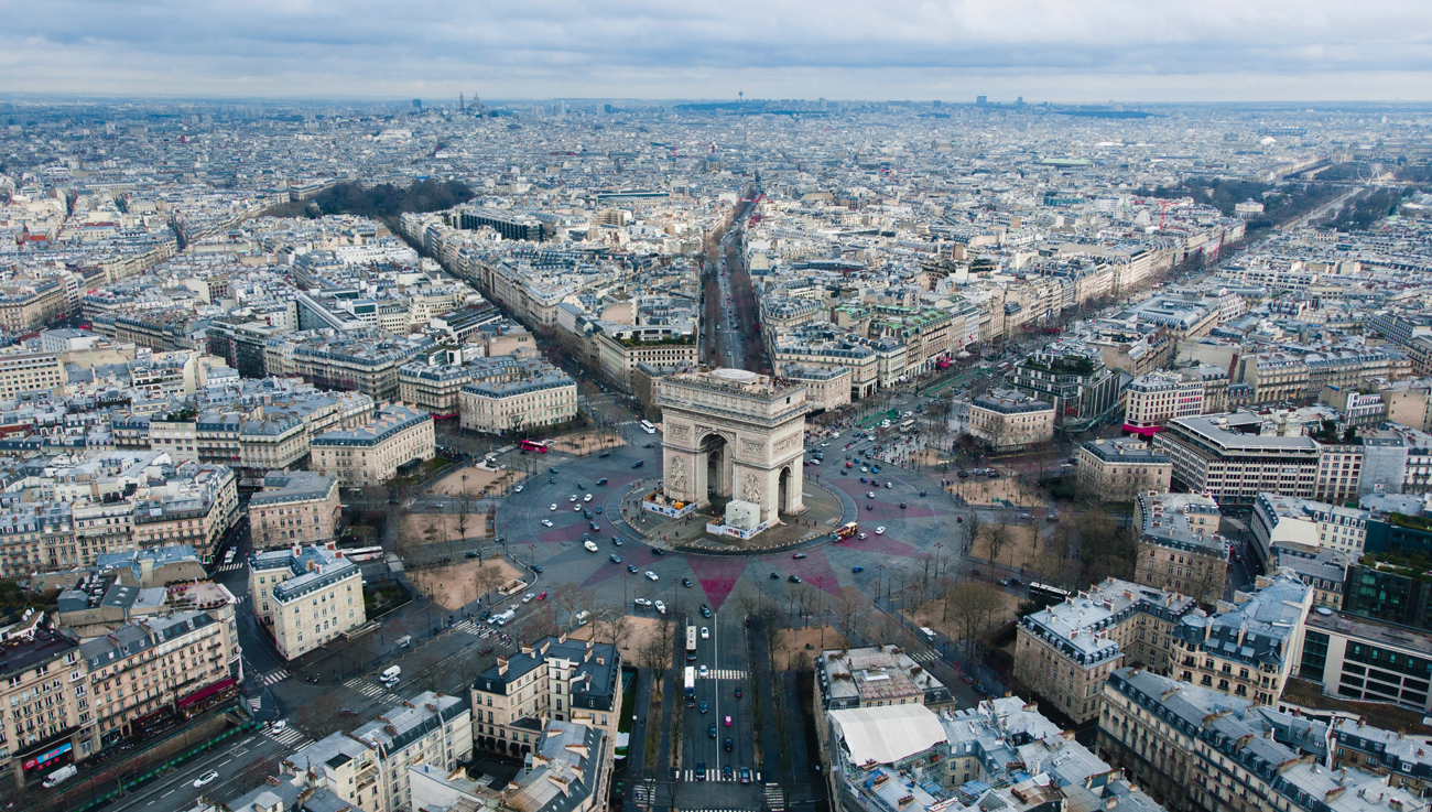 🌿 Jelysejśki polja u Paryži peretvorjať na «nezvyčajnyj sad» — ščo bude