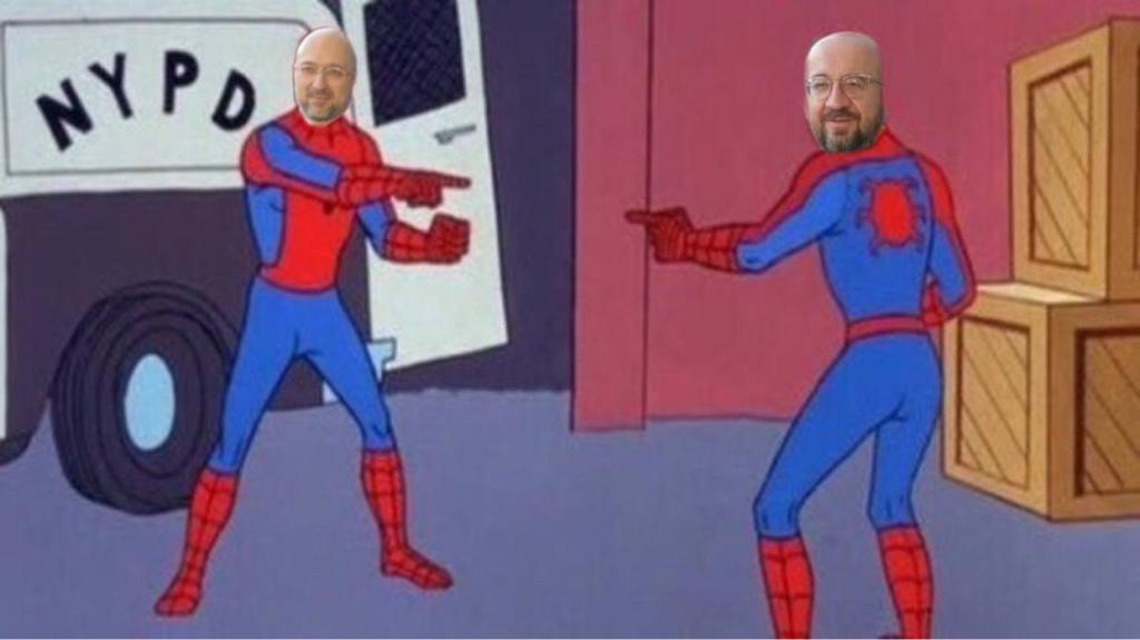 Denys Šmygaľ — mem