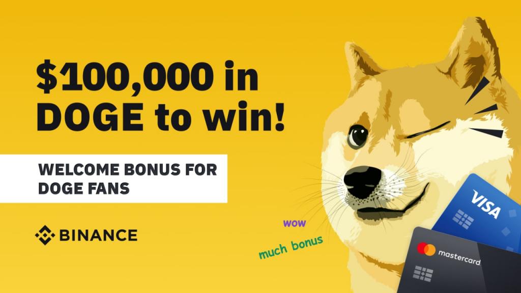 Конкурс з DOGE від Binance