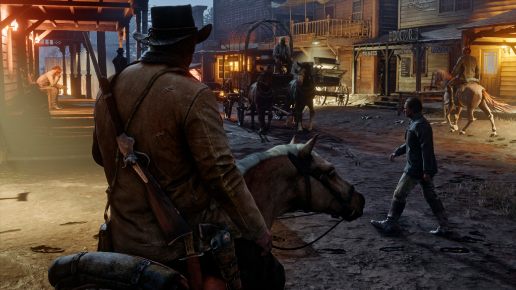 Navčannja za groju Red Dead Redemption