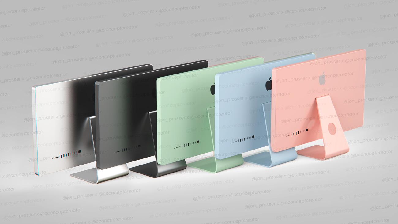 🖥 Pokazaly možlyvyj dyzajn novyh iMac — dodaly novi koľory