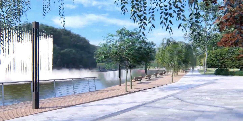 🌳 Презентували концепцію оновлення Голосіївського парку у Києві