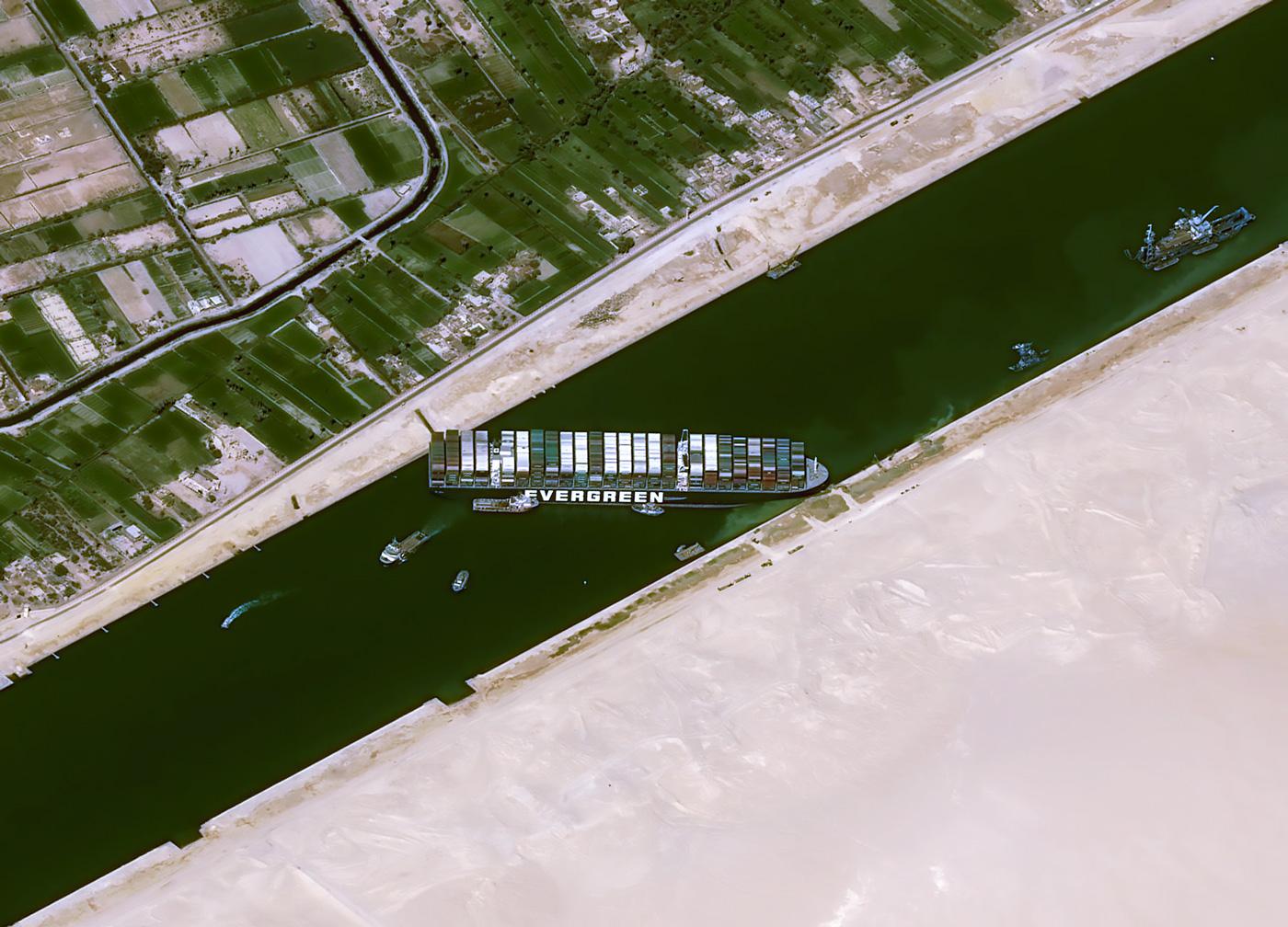 🚢 Про корабель, що заблокував Суецький канал, створили відеогру