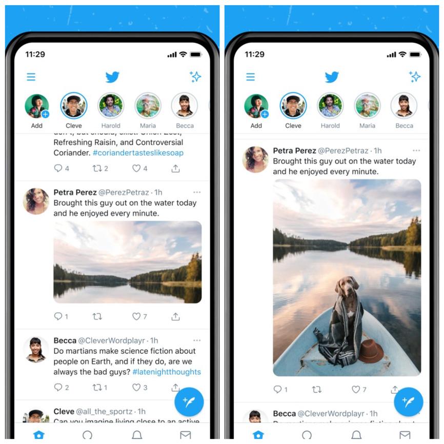 Novyj dyzajn u Twitter