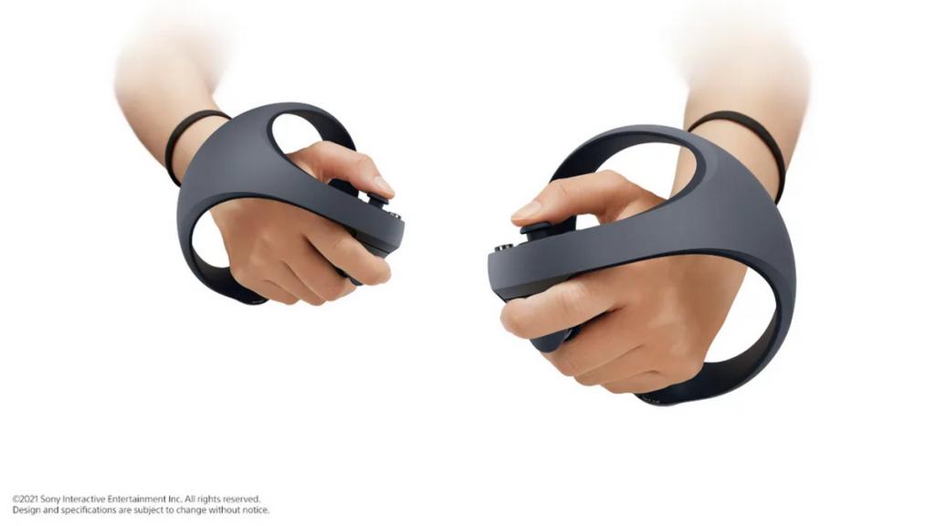 VR-kontrolery vid Sony