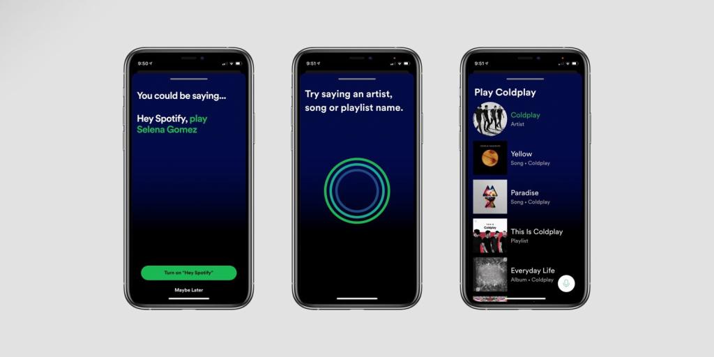Голосовий помічник в Spotify