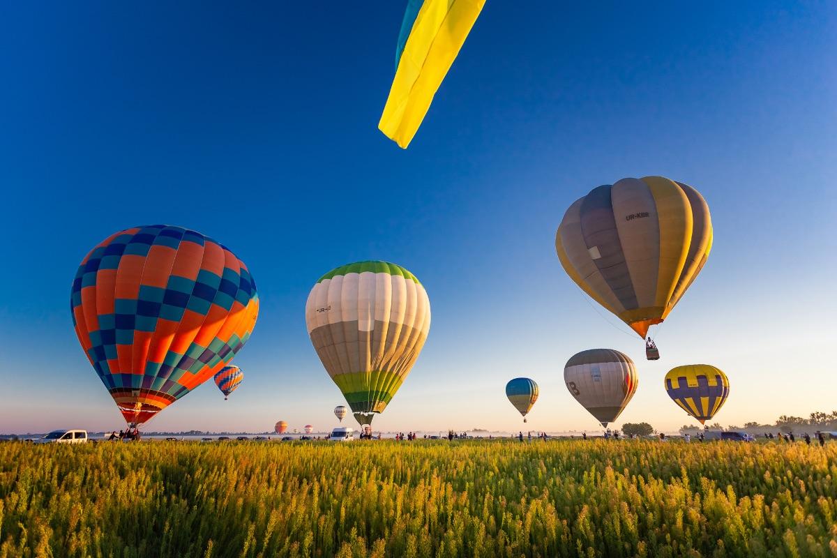 🎈 На Київщині відбудеться фестиваль повітряних куль «Монгольф'єрія»