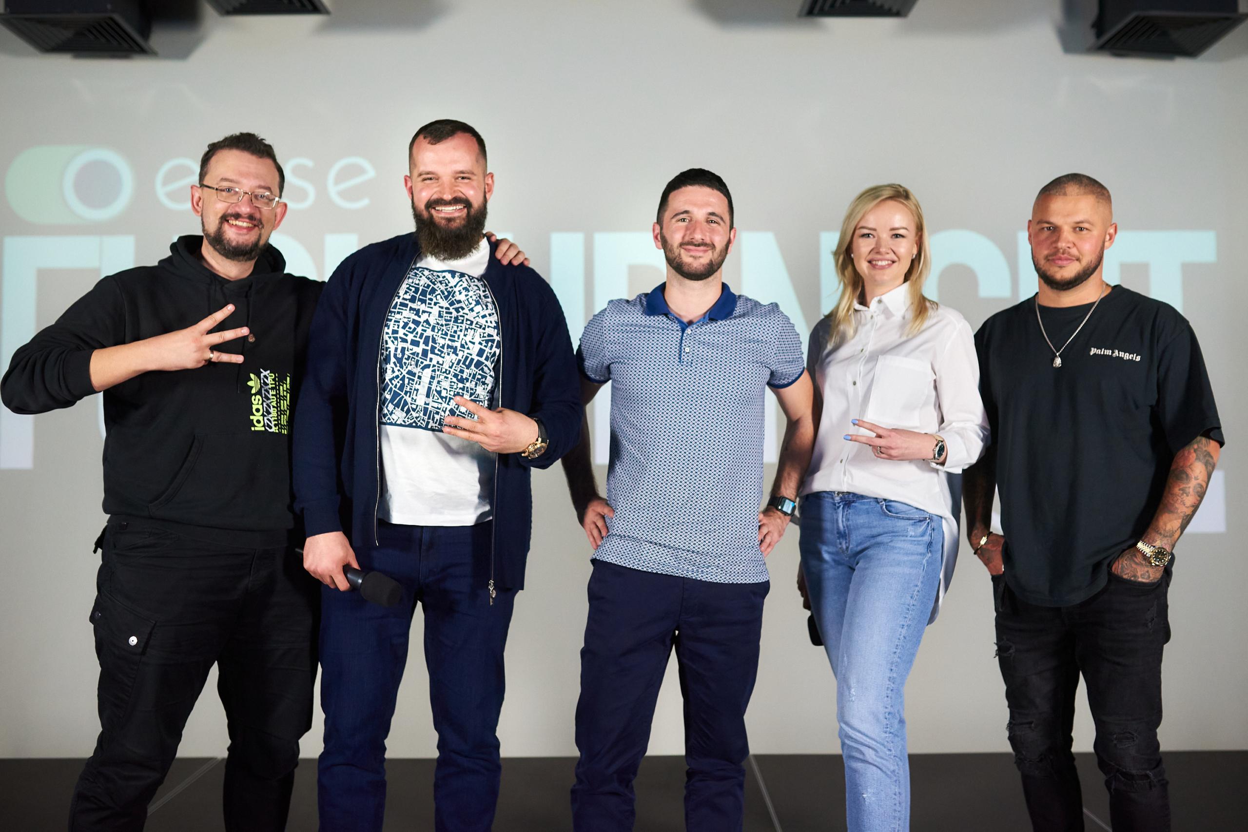 Roman Kyrylovyč, Vladyslav Savčenko, Illja Rejniš, Ljubov Močalova, Oleksij Kostyljev