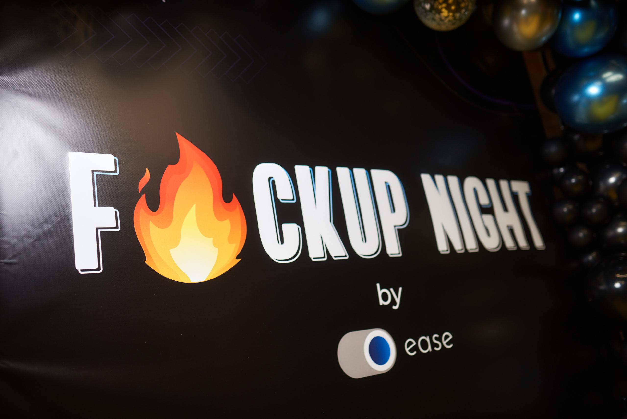 😎 FuckUp Night by EASE: Roman Kyrylovyč, Illja Rejniš i Oleksij Kostyljev pro svoї provaly