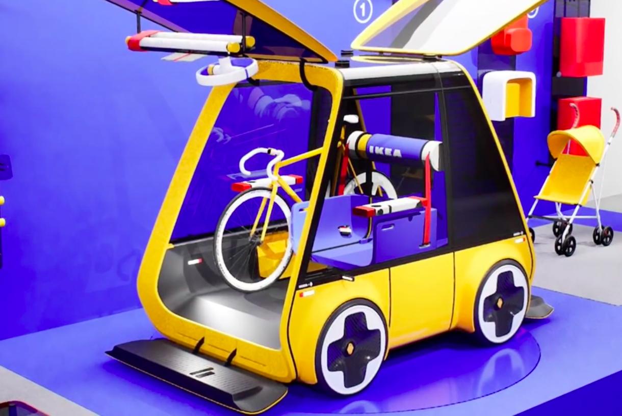🤪 IKEA розробляє бюджетний конструктор електромобіля