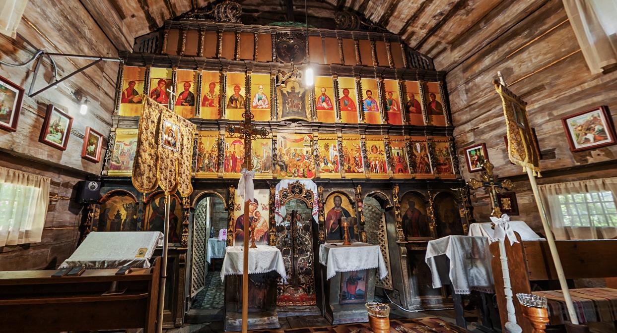 😲 Створили 3D-тури дерев'яними церквами Закарпаття