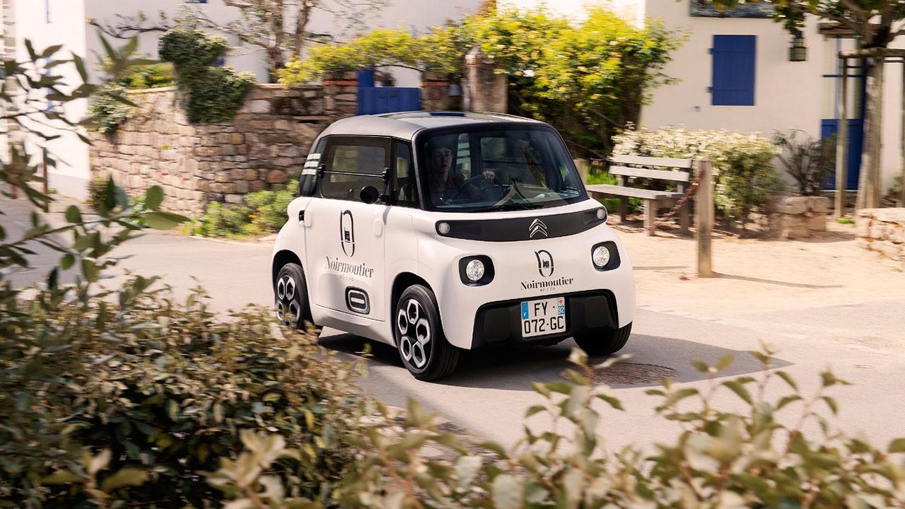 🚘 Citroën створила електричний мікромобіль для кур'єрів